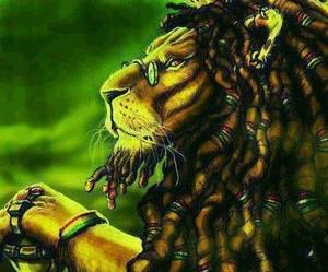 dread and lion image