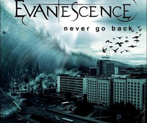 evanescence, song, and never go back image