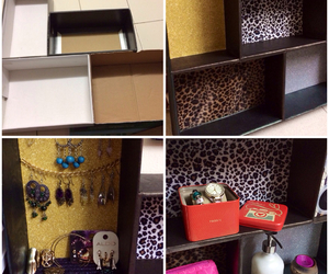 accessories, box, and diy image