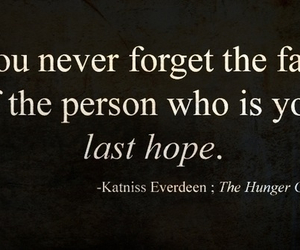 the hunger games, quote, and katniss everdeen image