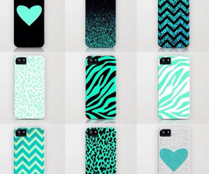 cases, chevron, and hearts image