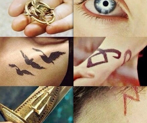 harry potter, divergent, and percy jackson image