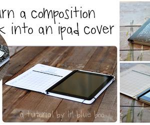 diy, ipad, and notebook image