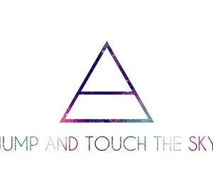 30 seconds to mars, sky, and jump image