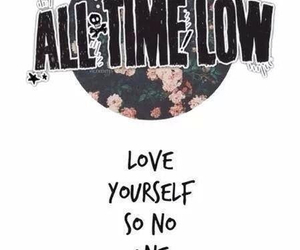 all time low, band, and Lyrics image
