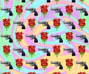 wallpaper, background, and gun image