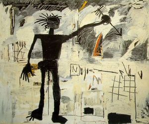 art, basquiat, and cool image