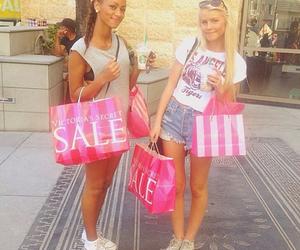 blonde, fashion, and shopping image