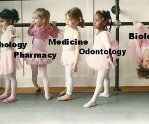 ballet, biology, and pharmacy image