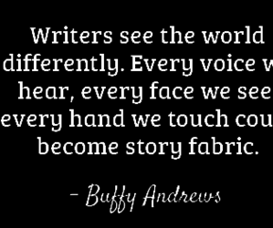 writer, world, and quotes image