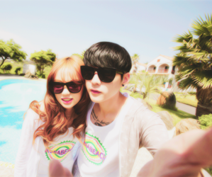 summer, ulzzang, and couples image