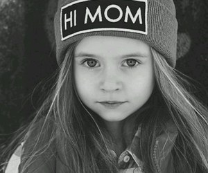 girl, cute, and mom image
