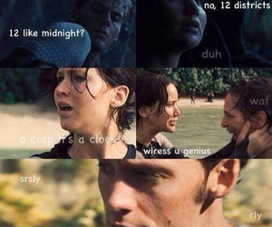 funny and hunger games image