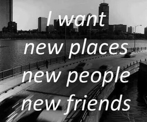 friends, new, and people image