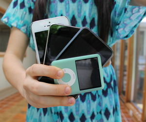ipod, tumblr, and iphones image