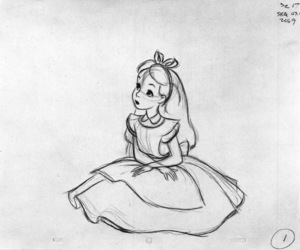 art, alice, and draw image