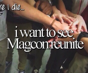 magcon, before i die, and cameron dallas image
