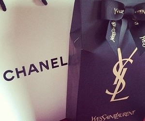 chanel, YSL, and shopping image