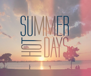 summer, Hot, and days image