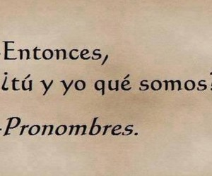 love and pronombres image
