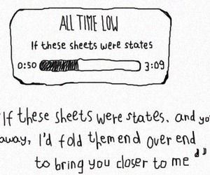 all time low, Lyrics, and music image