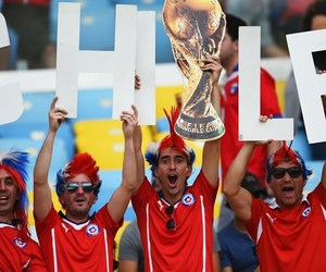 chile and world cup 2014 image