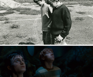 childrens, past, and rony weasley image
