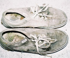 vans, shoes, and dirty image