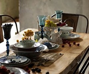 china, table, and dining table image
