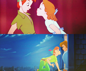 peter pan, wendy, and love image