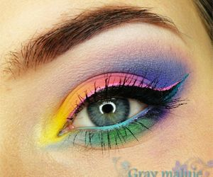 colores, lindo, and eye image