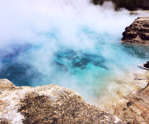 clear, hot spring, and beautiful image