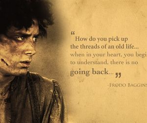 book, LOTR, and quote image