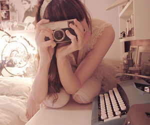 bedroom, tinydoll, and camera image