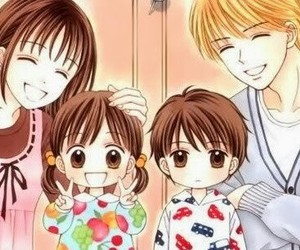 marmalade boy, anime, and family image