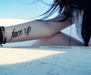 face up image
