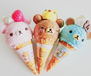 cute, ice cream, and kawaii image