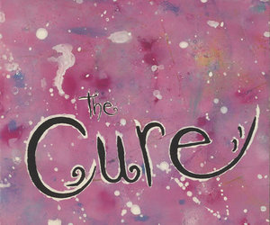 the cure, band, and pink image