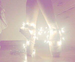 ballet, fairy lights, and pretty image