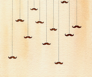 beautiful, funny, and moustaches image