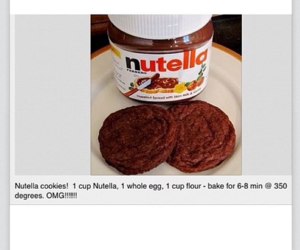 diy, nutella, and Cookies image