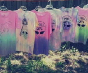 acid, dip dye, and chill out image