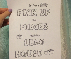 art, drawings, and lego house image