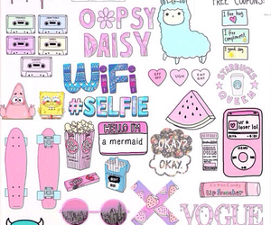 wallpaper, pink, and wifi image