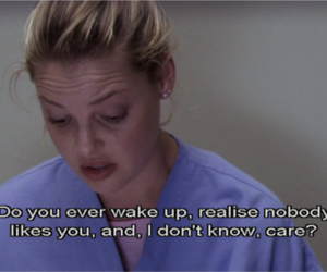 quote, grey's anatomy, and care image