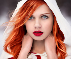 fashion, red hair, and model image