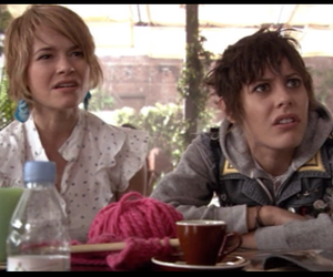 katherine moennig, the l word, and leisha hailey image