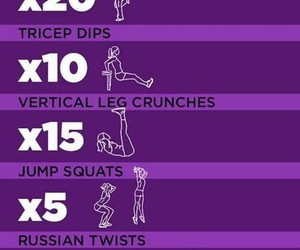workout, fitness, and song image