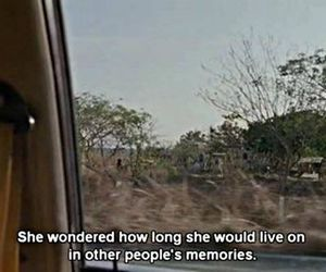 quotes, memories, and sad image