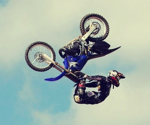 crazy, motocross, and freestyle image